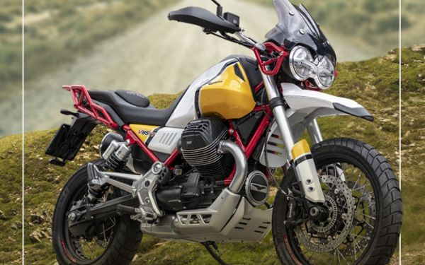 Nouvelle V85 TT chez Moto Guzzi